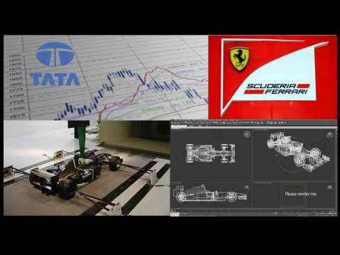 Team Spirit: Scuderia Ferrari and Tata Consultancy Services